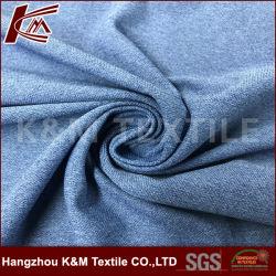 100 % polyester Tissu Pk cationiques tricot jersey pour T-Shirt de sport