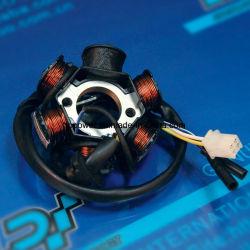 Gy6-50CC motocicleta eléctrica de Magneto de las piezas eléctricas de la bobina del estator, bobina de encendido