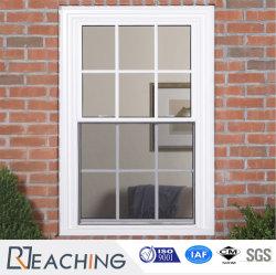 Perfil de concha 2 Diseño de parrilla guillotinas de UPVC/PVC solo colgaba de la ventana