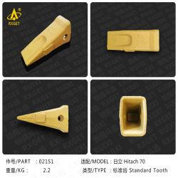 Ex70b Hitachi EX70 Adaptador de cuchara de la serie, la construcción de la máquina excavadora, cargador de piezas de repuesto y diente de la cuchara y el adaptador