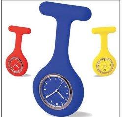 Carabiner가 있는 스테인리스 스틸 리모컨 간호사 시계