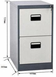 Fächer des Büro-Möbel-vertikales Metallstahlaktenschrank-2
