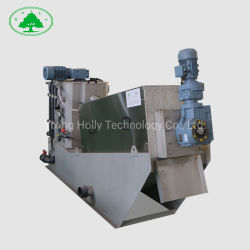 Líquida sólida correa de separación de aguas residuales de aceite en el filtro prensa