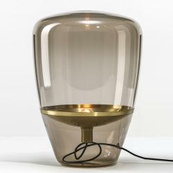 透明ガラスランプシェードミニテーブルランプレストランランプロマンチックランプ