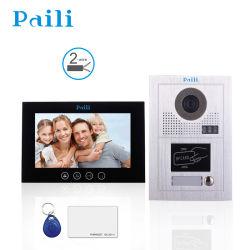 10inch interphone vidéo Bell de porte pour les systèmes de sécurité
