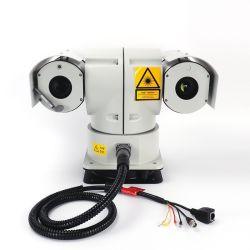 1.6kmの手段の検出の赤外線画像PTZ CCTVのカメラ
