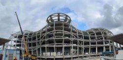 Металлической монтажной петелькой стальные конструкции здания Коммерческого Здания металлические стальные структуры