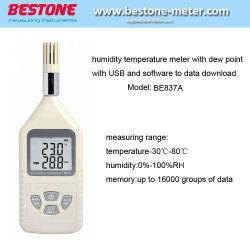 Nuevo diseño del medidor de humedad y temperatura ser837A para venta al por mayor