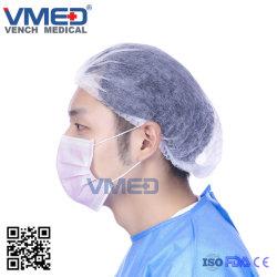 Mascherina non tessuta a gettare dell'ospedale medico, maschera di protezione non tessuta 3-Ply, maschera di protezione chirurgica a gettare, maschera di protezione attiva del carbonio, visiera