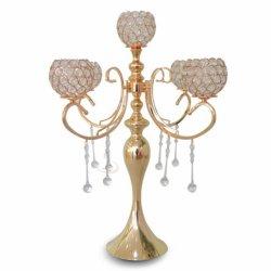 5 Les armes de l'Acrylique Crystal Tea Light Bougeoir candélabre pour mariage