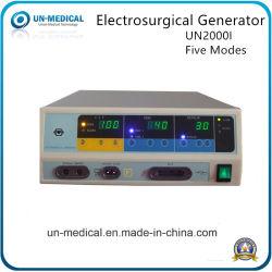 300W elektrochirurgische generator met vijf werkstanden