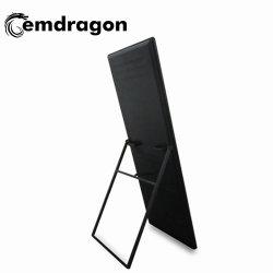 출하 시 대형 광고 LCD 디스플레이 Windows Android 43인치 휴대용 플로어 스탠드 디지털 사이니지