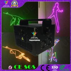 Cer RoHS 3W sondert grünes Verein DJ Laserlicht aus