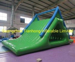 6X4X3MH Triángulo tobogán inflable de diapositivas de caída libre de escalada