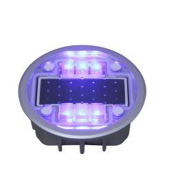 Super Bright LED solaire Lighrt réflecteur de la sécurité routière La sécurité routière