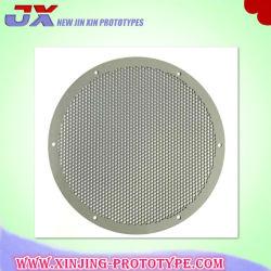 Custom Precision Decoração Galvanizado Folha Perfurada Ronda de metal/Furos Quadrados Laser de Peças de Corte