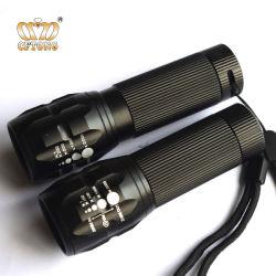 ألومنيوم [3و] [زوومبل] مصغّرة تكتيكيّ [لد] مصباح كهربائيّ مشعل
