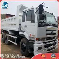 Weißes Color Ud Nissan Cargo Vehicle Used Heavy Trucks Sale in China