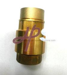 Válvula de retenção da mola de latão com acoplamento de Latão