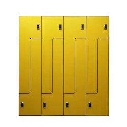 6 PORTES Z casier avec tampon de blocage de forme pour l'employé