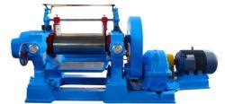Silicona caucho anticorrosivo de alta resistencia a la temperatura abrir dos rollos de la máquina de molino mezclador