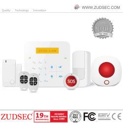 Antirrobo de Wireless Home Alarma GSM con teclado táctil y el funcionamiento de la App.