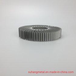 La precisión de aluminio anodizado/disipador de aluminio/radiador para usos industriales/aire acondicionado/TV/ordenador