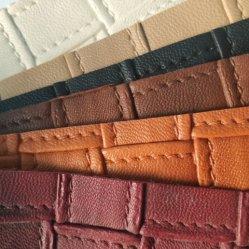Stock pleinement multicolores de 100% PVC pour les chaussures en cuir synthétique Sacs, Chaussures en cuir unique du matériel, de hauts talons de chaussures du Matériel en cuir