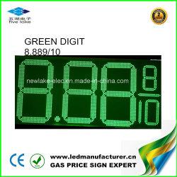 مؤشر LED الإلكتروني لأسعار 6 بوصة لمحطة البنزين
