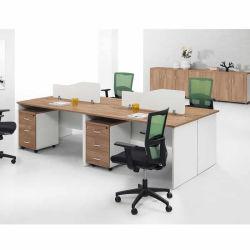 가정 까만 싼 구석 2 PC 칸막이실 인간 환경 공학 1 2 4 6명의 사람 사무실 홈을%s 서랍을%s 가진 모듈 컴퓨터 두 배 직원 워크 스테이션 책상 또는 학교 또는 사무실