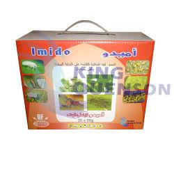 Étiquette personnalisée no CAS 105827-78-9 l'imidaclopride 25 WP Insecticide en poudre