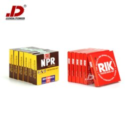 (4D95/4HK1 6D125 /4M40 D6D/D6E)/Hino Isuzu/Volvo original véritable NPR/TP/RIK Segment de piston