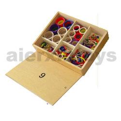 Монтессори образовательные игрушки Gabe 9 (3 см)