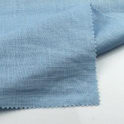 12*12 Plain gefärbtes Bambusart Slublinen Rayon-Gewebe