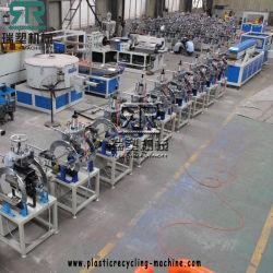De Begrenzende Lijn die van het Profiel van het Frame van de Deur van pvc WPC PS van de Faciliteit EPS van het Schuim tot Omlijsting maken de Plastic Machine van de Uitdrijving van het Frame