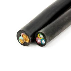 450/750V Yzw Yh Joc Yc H07RN-F H05RN-F de baja tensión aislados de caucho de silicona Flexible recubierto de Cables de alimentación eléctrica de Conductor de cobre del cable de soldadura de caucho