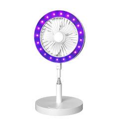 Armazenamento portátil UVC desinfecção LED Lâmpada Ventilador germicida UV com o Ventilador e Luz LED de esterilização a Lâmpada UV de Modelo B
