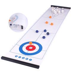 Novo design do jogo de múltiplos desktops evolutivo patenteada 3 em 1 Modelador de shuffleboard bowling jogo de mesa com extremidades Magnético