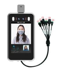 Interphone vidéo contrôle d'accès périphérique Terminal de reconnaissance de visage de la température