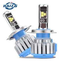 Haizg T1 H4 LED 헤드라이트 키트 50W 8000lm H1 H3 H7 H8 H9 H11 HB3 HB4 Fun LED 전구 조명 안개등 구동 키트 Luz LED Focos LED 키트 차량용 LED