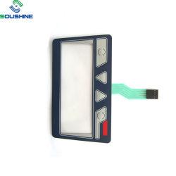 2019 Novo Design OEM Teclado de membrana com janela transparente