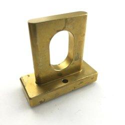 Morsetto in ottone/rame lavorato a macchina CNC e forgiato di precisione OEM certificato ISO