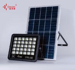 Rue lumière intégrée de plein air d'inondation tout en un seul 60W 120W haute efficacité énergétique LED solaire