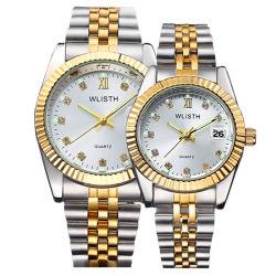 Wlisth Watches Senhoras pulseira de aço inoxidável Luxury Watch woman Custom Relógio de pulso por atacado