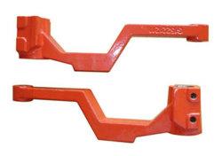 Moulage de machinerie de construction de pièces pour des pièces de voiture (QS0009)