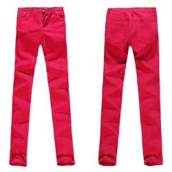Women's Red Jeans (P21955SK)
