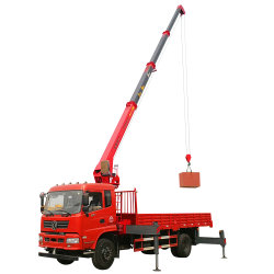 Führender anhebender Leistungs-Aufnahmen-Kran 8 Tonnen-Selbstladevorrichtungs-Kranwagen-Preis mit CER