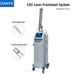 Салон красоты оборудование машины CO2 для удаления тега кожи снятие дробные CO2 лазера