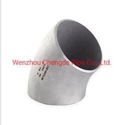 Carré encastré en acier inoxydable Joiner le coude du tuyau d'angle de 90 degrés Prix de gros Cdpt1301