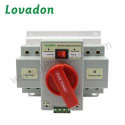 La plus récente phase unique 63A 2P AC Mini double alimentation électrique ATS Commutateur de transfert automatique 220V avec une bonne qualité pour le générateur
